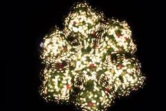 Schnee bokeh für Weihnachtshintergrund Lizenzfreie Stockfotos