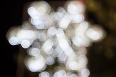 Schnee bokeh für Weihnachtshintergrund Lizenzfreie Stockfotografie