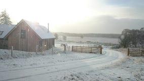 Schnee in Cairngorms Lizenzfreie Stockfotografie