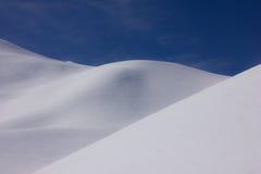 Schnee-Dünen Stockbilder