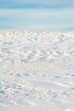 Schnee deckte Hügel ab Lizenzfreies Stockfoto