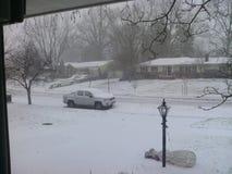 Schnee deckte LKW ab Stockbilder