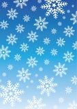 Schnee-Flocken-Muster Stockbilder