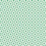 Schnee-Flocken und Dots Pattern Lizenzfreies Stockfoto