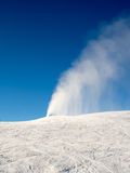 Schnee fonutain Stockbild