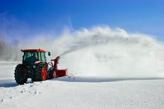Schnee-Gebläse Lizenzfreies Stockbild