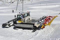 Schnee-Gleiskette lizenzfreies stockfoto
