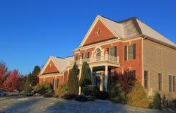 Schnee-Haus Stockfoto