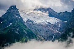 Schnee im Kaukasus Lizenzfreies Stockfoto