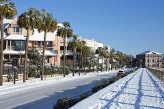 Schnee im Süden Stockfotos