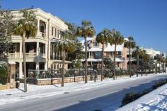 Schnee im Süden Lizenzfreie Stockfotografie