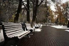 Schnee ist sehr flaumig stockfotos
