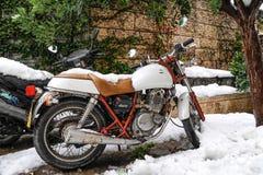 Schnee in Jerusalem Lizenzfreies Stockbild