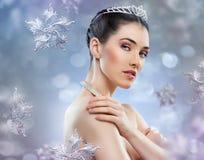 Schnee-Königin Stockfotos