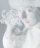 Schnee-Königin stockfoto