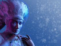 Schnee-Königin lizenzfreie abbildung