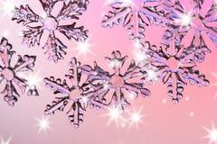 Schnee-Kristall stockfotos
