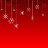 Schnee-Kristall-Hintergrund Lizenzfreie Stockfotografie