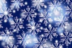Schnee-Kristalle lizenzfreies stockbild