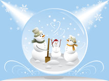 Schnee-Kugel Stockfotos