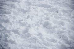 Schnee-Oberflächenbeschaffenheit Stockbilder