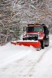 Schnee-Pflug Stockfoto