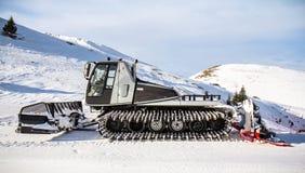 Schnee-Pflug Stockfotos