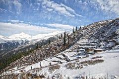 Schnee-Platz Stockbild