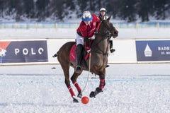 Schnee Polo World Cup Sankt Moritz 2016 Stockfotos