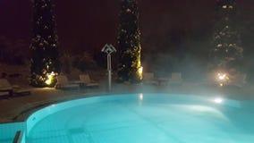 Schnee-Pool Stockbilder