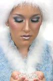 Schnee-Prinzessin Stockfotos