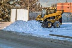 Schnee revoval stockfotos