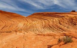 Schnee-Schlucht-Nationalpark und es sind Sanddünen stockbilder