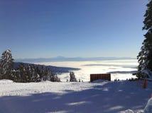 Schnee Shreddin Stockbild