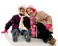 Schnee-Spaß Lizenzfreie Stockfotografie
