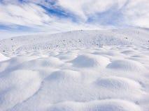 Schnee-Stösse Stockbild
