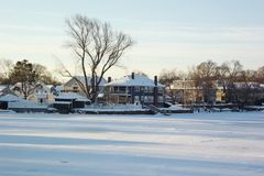 Schnee-Szenen Lizenzfreie Stockfotografie