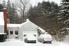 Schnee-Tag Stockbilder