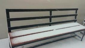 Schnee-Tropfen stock video footage