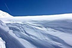 Schnee u. Wind Lizenzfreie Stockfotografie