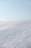 Schnee und Himmel Lizenzfreie Stockfotografie