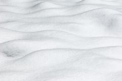 Schnee - Wellenmuster Lizenzfreie Stockfotos