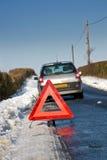Schnee-Zusammenbruch Lizenzfreie Stockbilder