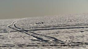 Schneebahn Stockfotos