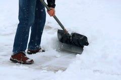 Schneebedeckter Hintergrund des Winters Tages Lizenzfreie Stockbilder