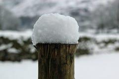 Schneebeitrag Lizenzfreies Stockfoto