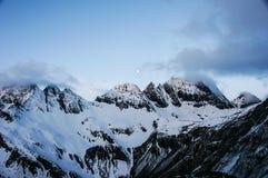 Schneeberg übersehen Lizenzfreie Stockfotografie