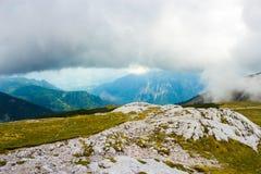 Schneeberg berg i lägre Österrike Royaltyfri Bild
