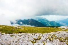 Schneeberg berg i lägre Österrike Fotografering för Bildbyråer