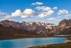 Schneeberg in China Lizenzfreies Stockbild